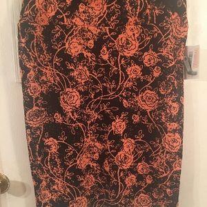Lu LaRoe Cassie skirt XL